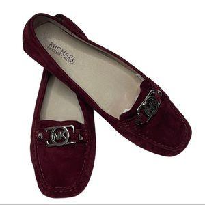 Michael Michael Kors Bordeaux Charm Loafer Flats